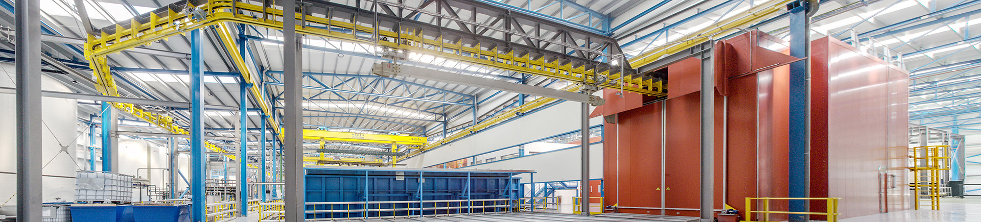 Flexible production lines