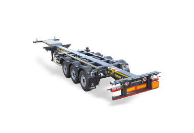 Container carrier chassis