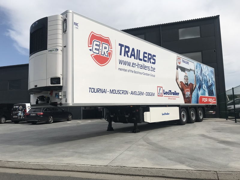 Lecitrailer reinforce its presence in Belgium with its partner E R Trailers
