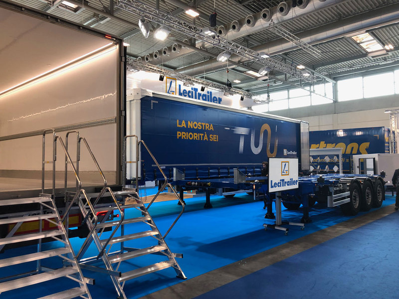 Widespread approval of Lecitrailer's developments at Transpotec, Italy