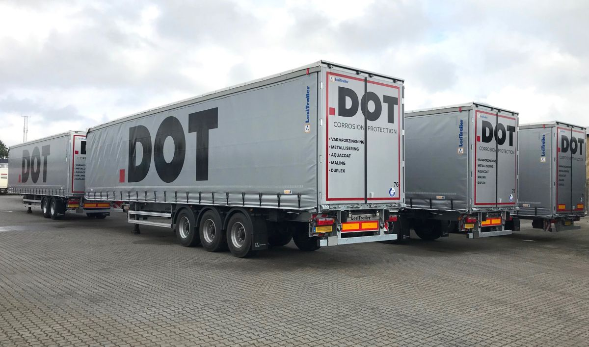 DOT A/S add to his fleet 23 semi-trailers Lecitrailer