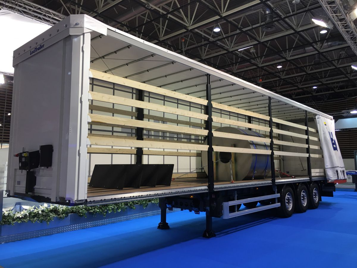 Coil carrier curtainsiders