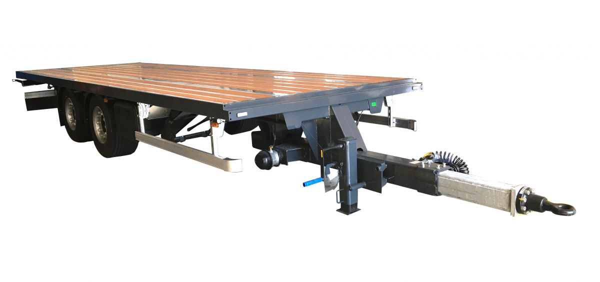 Central axles trailer